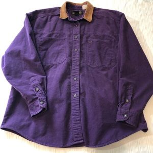 Vintage Eddie Bauer long sleeve button up